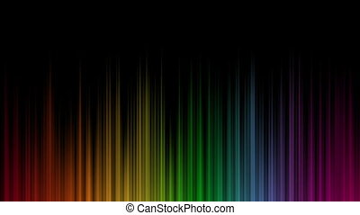 Aurora Borealis Looping Motion background