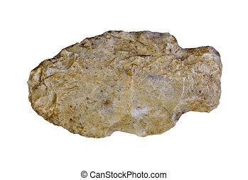 Arrowhead - Indian arrowhead isolated on a white background