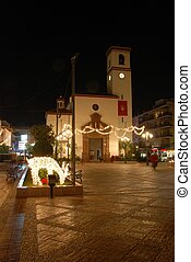Church & Reindeer, Fuengirola. - Church (Iglesia de Nuestra...