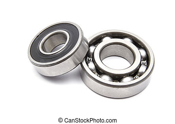 Ball Bearing - Ball bearing isolated on white background