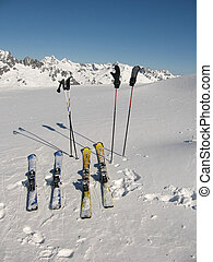 Wintersport Les Sybelles - A perfect day for skiing in Les...