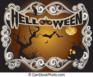 Helloween - halloween, horror, black, holiday, witch,...