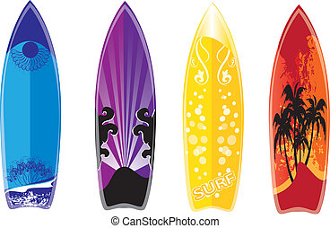 surfboard - set of surfboard