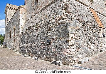 Albornoz fortress Narni Umbria Italy