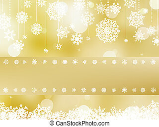 ?hristmas with place text invitation. EPS 8