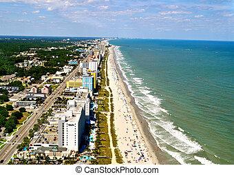 Myrtle Beach Coastline - Aerial View-1 - Myrtle Beach...
