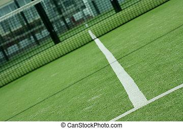 campo deportivo - pista de padel