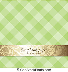 Scrapbook design element