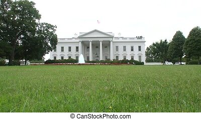 The White House - Low angle shot of the White House