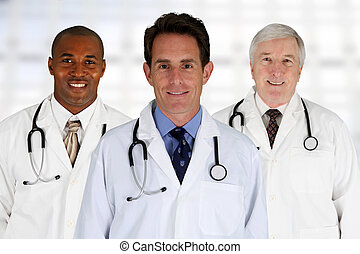 Doctors - Group of doctors standing in a hospital