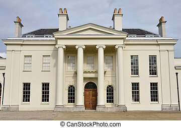 Front of Hylands House