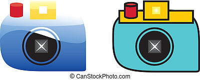 Cameras - Camera with two kinds of vector styles