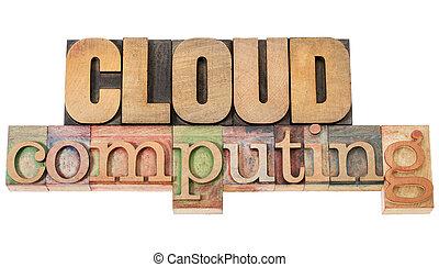 cloud computing in wood type