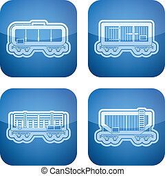Industry Icons: Railroad transportation - Industry Heavy...
