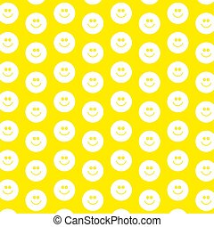 smilie wallpaper - decorative smilie face patterned...