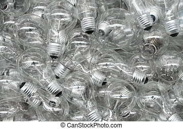 Light bulbs background - Background with a lot of light...