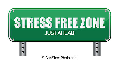 Stress free Zone just ahead
