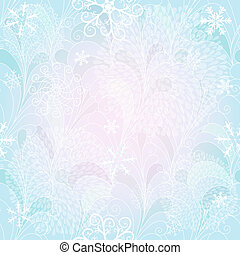 Seamless christmas gentle pattern