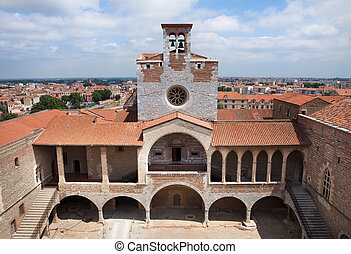 Palace of the Kings of Majorca in Perpignan, France