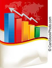 Vector Business Chart