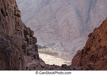 Sinai Monastery - monastery in the mountains of Sinai