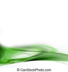 lime abstract - A modern background layout with 3d abstract...