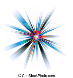 Abstract Burst - An abstract burst illustration Very...