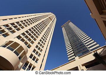 Skyscraper in Dubai, United Arab Emirates