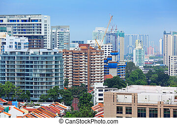 residential area in Singapore