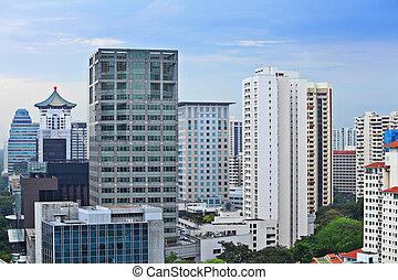 edificios singapur edificios