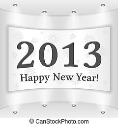 Happy New Year Placard