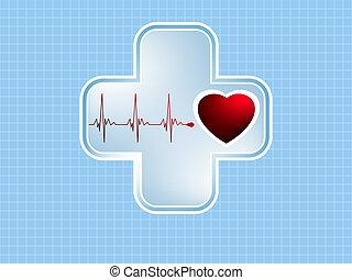 ECG Electrocardiogram. EPS 8