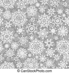 Light silver abstract Christmas background. EPS 8