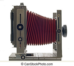 old large format camera - large format camera isolated
