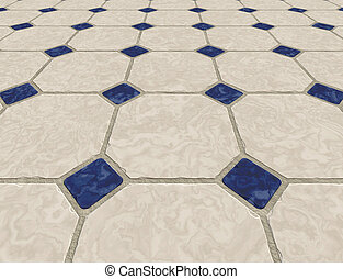 marble tiled floor - large marble tiled floor background...
