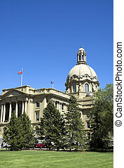 Alberta Legislature  - The Alberta Legislature Building.
