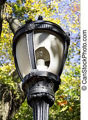 Lightpost - Street lightpost with brocken glass