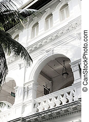 British colonial Architecture - Facade of British colonial...