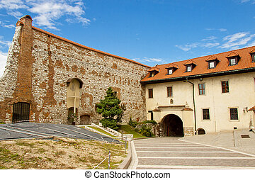 Benedictine monastery - Tyniec, Poland - View on Benedictine...