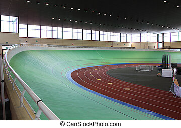 modern track sprint cycling