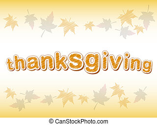 thanksgiving background - abstract background, frame of...