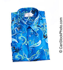 dress shirt on white background - Shirt. men dress shirt on...