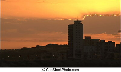 Sunrise in Malecon Havana Cuba - It is a special sunrise...