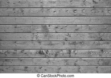 Grey wooden plank wall batten board background
