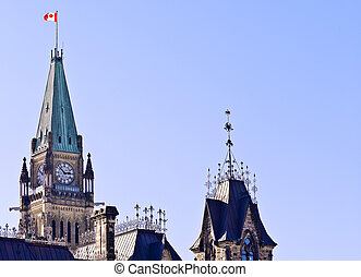 Peace Tower Pride - The canadian Parliament Centre Block...