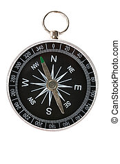 Compass - Black compass close up shot