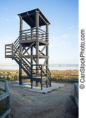 Birdwatch tower