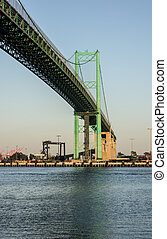 Vincent Thomas Bridge San Pedro - Historic Vincent Thomas...