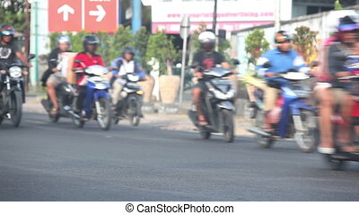 Group of bikers  - Group of people riding on motorcycles