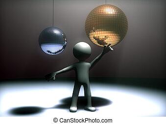discoteca, ballo